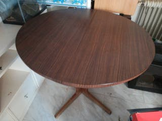 mesa redonda plegable