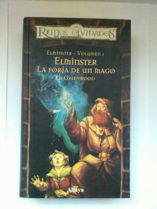 Libro elminster la forja de un mago volumen 1