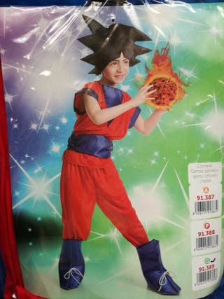 Disfraz goku dragon ball