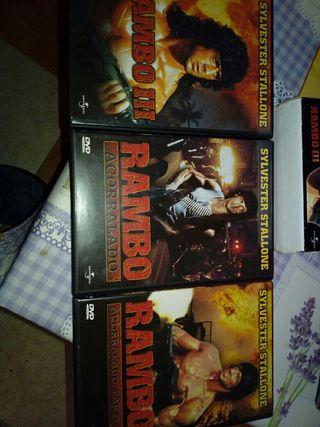 trilogia rambo dvd