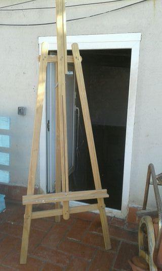caballete de pintura
