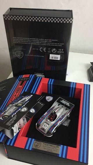 Scalextric slot liquidación Porsche 908/3 martini