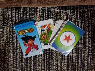 Baraja Cartas Dragon Ball de los 90
