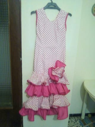vestido de gitana talla 10