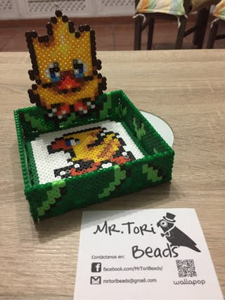 Caja de Chocobo final fantasy para llaves