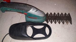 maquina de podar y corta setos recagable bosch