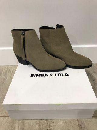 Botines BIMBA Y LOLA n*37 URGE