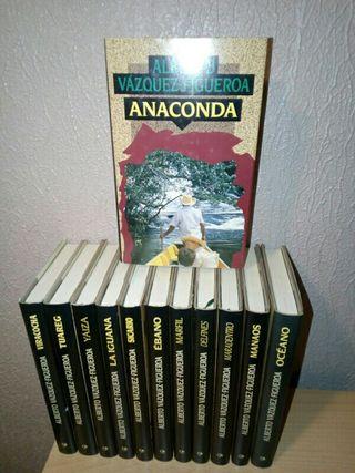 Libros Alberto Vázquez Figueroa