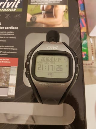 reloj gps con monitor cardiaco.