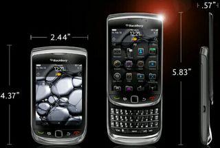 Blackberry tourch 8910