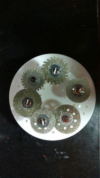 Discos corte diamante, varios tipos de corte