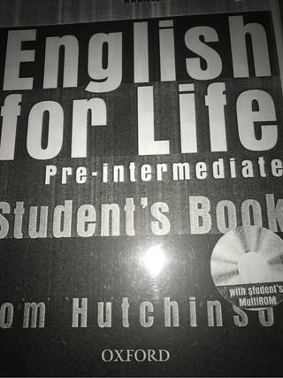 Libro ingles english for life