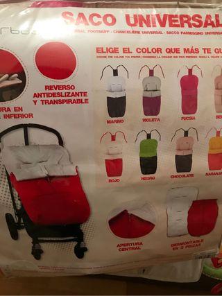 Saco silla bebe interbaby