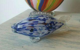 Pez de cristal de Murano pequeño