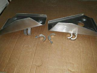 Cubre trapecios aluminio Banshee