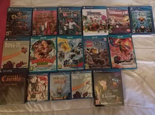 Juegos PS4 - WiiU - PS Vita