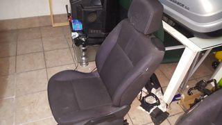 asiento conductor clio 2008