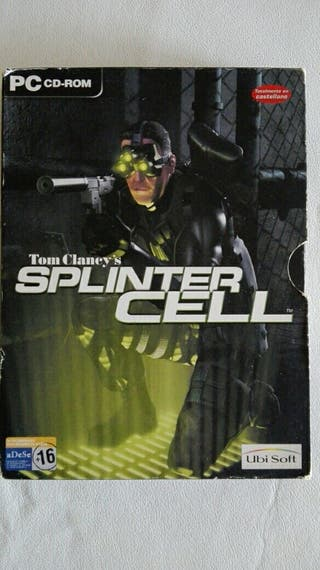 Juego de pc Splinter Cell Original