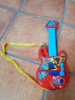 Guitarra eléctrica de la Patrulla Canina