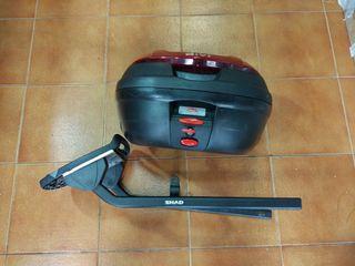 Cofre moto + soporte GS500E