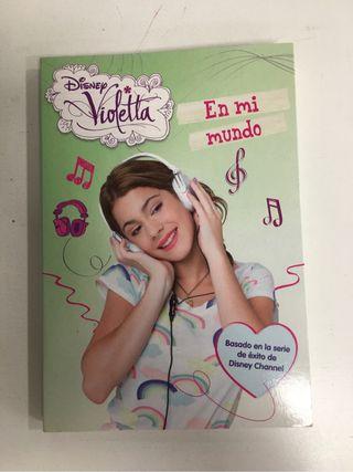 Pack 4 libros Violetta