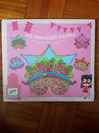 Mascaras carnaval princesas Djeco