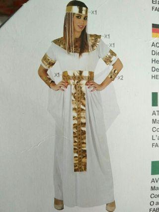 Disfraz de reina del Nilo adulto