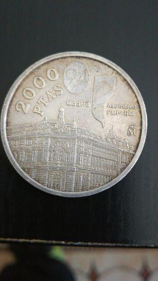 Moneda 2000 ptas, 1994