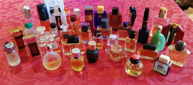Lote Miniaturas de Colonia y Perfume
