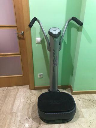Plataforma vibradora fitness