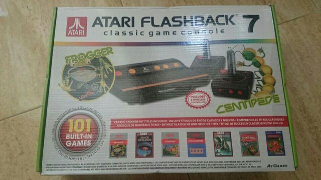 Consola Atari Flashback 7 Con 101 Juegos Clasicos De Segunda Mano