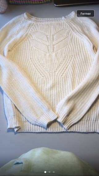 Magnifique Pull en tricot Zara