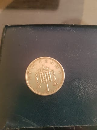 MONEDA: NEW PENNY 1979