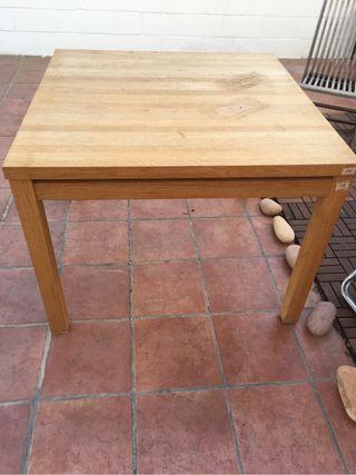 Mesa comedor madera de segunda mano en valencia en wallapop - Mesas de segunda mano en valencia ...