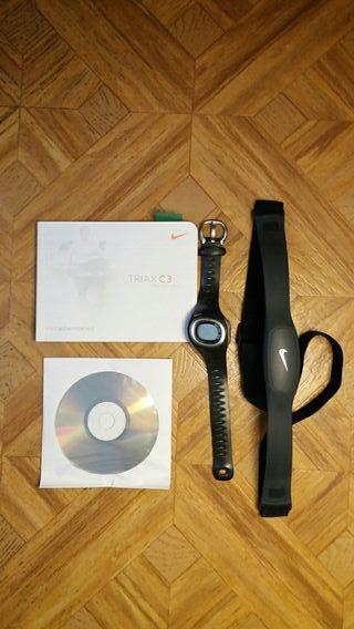Reloj pulsómetro Nike TRIAX C3