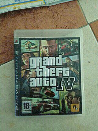 Ps3 gran theft auto gta 4 IV juego playstation