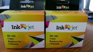 tinta hp color impresora