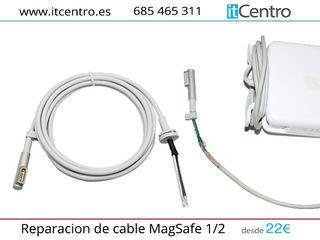 Reparación cargador macbook portátil