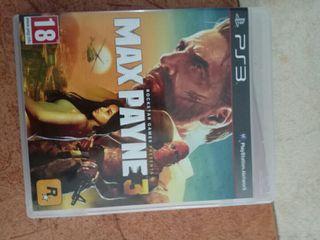 Max payne Ps3 como nuevo pley play 3