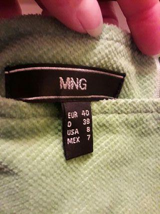 Falda pana Mango