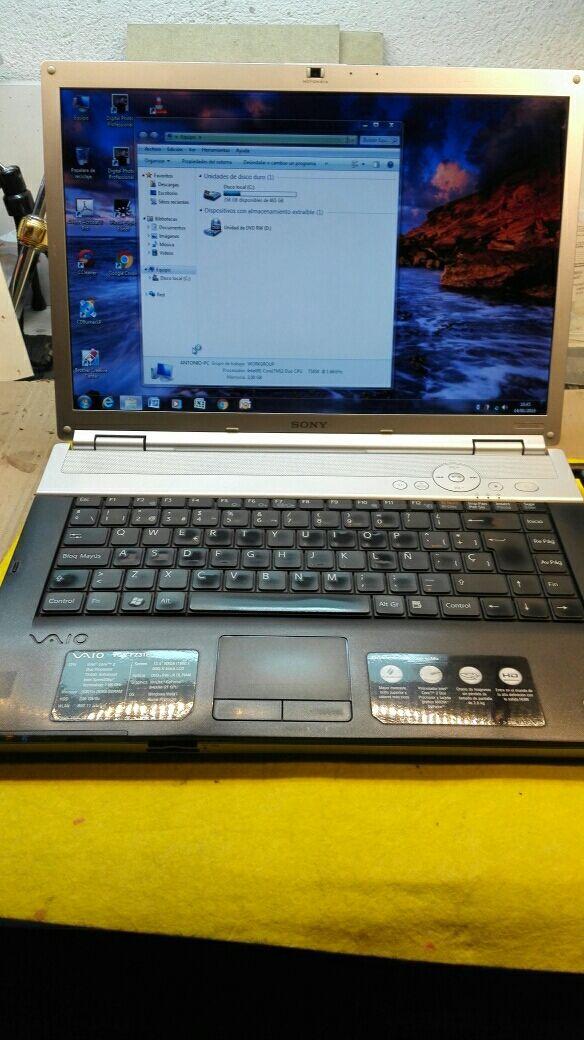 portátil Sony Vaio pcg-3a1m