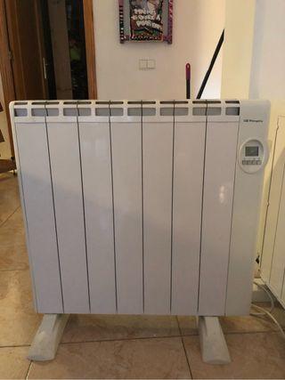 Radiadores de calor azul