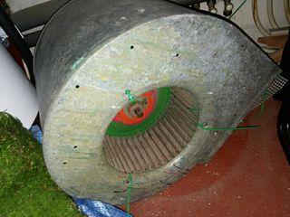 turbina extractor ventilador Casals bd 28