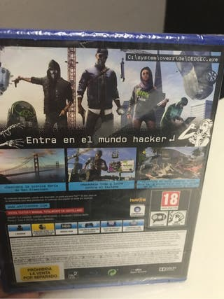 Watch dogs 2 ps4 precintado