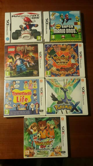 Juegos para consolas Nintendo DS y Nintendo 3DS