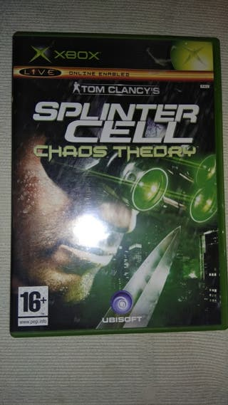 SPLINTER CELL CHAOS TEORY XBOX