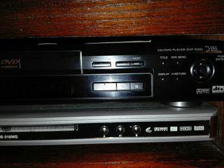 DVD sony y otro ibox