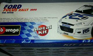 Maqueta Ford Focus Rally 1999