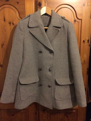 Double breasted Grey Coat