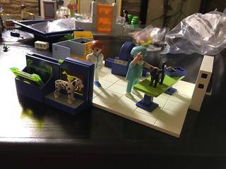 Quirófano veterinario playmobil